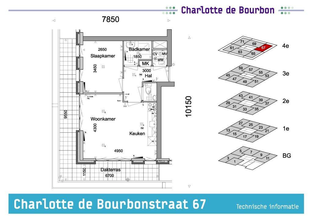 Delft, Charlotte de Bourbonstraat 67