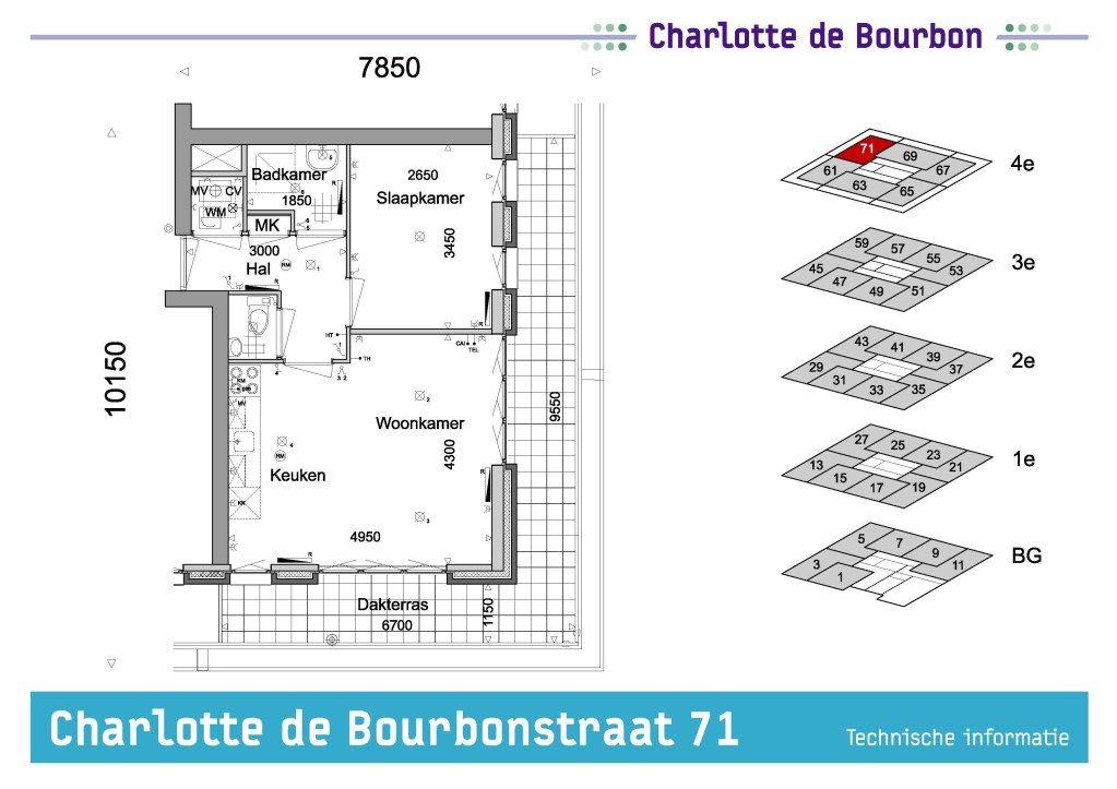 Delft, Charlotte de Bourbonstraat 71